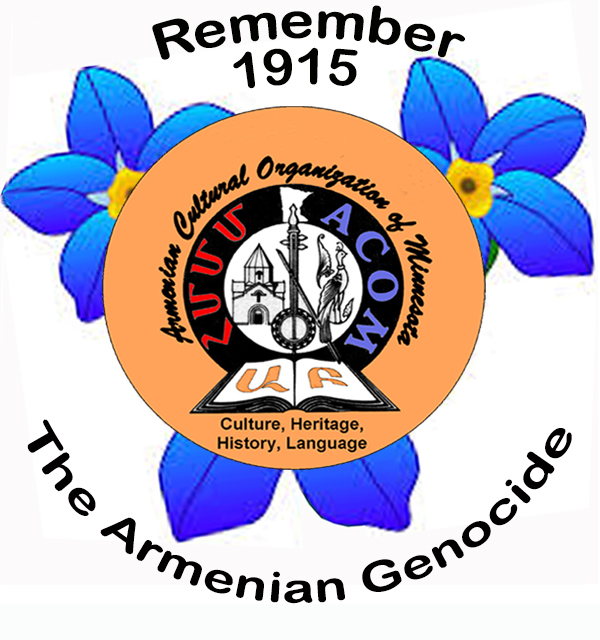 ACOM Genocide Commemoration Button