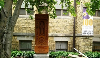 Armenian Khachkar installed in Minnesota
